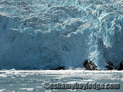 Alaska Glacier in Prince William Sound