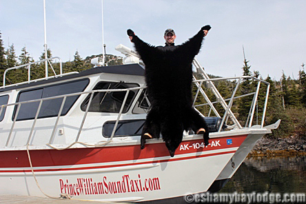 Black Bear Hunt with Prince William Sound Adventures